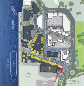 portside map